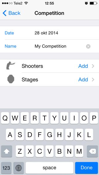 Configure Competition